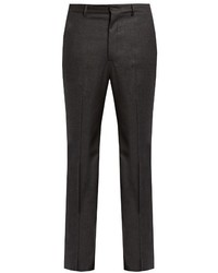 Bottega Veneta Slim Fit Wool Blend Flannel Trousers