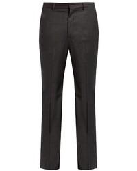 Slim fit wool blend flannel trousers medium 738649