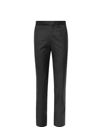Ermenegildo Zegna Slim Fit Wool Felt Trousers