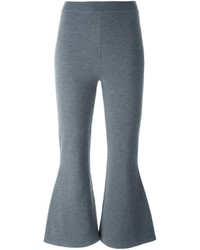 Stella McCartney Casual Cropped Flared Trousers
