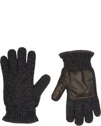 Charcoal Wool Gloves