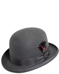 Classico wool felt derby hat grey medium 231420