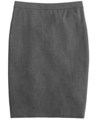... J.Crew Pencil Skirt In Italian Two Way Stretch Wool f8bfcecba