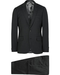 Paul Smith Grey A Suit To Travel In Soho Slim Fit Wool Suit