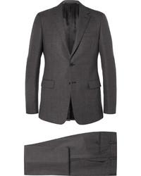 Prada Grey Slim Fit Wool Suit