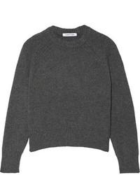 Elizabeth and James Rhett Wool Blend Sweater Anthracite