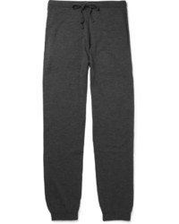 Charcoal Wool Sweatpants