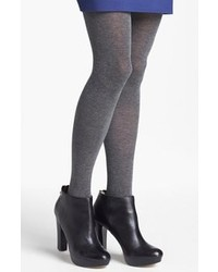 Nordstrom Love Sweater Tights Charcoal Cd