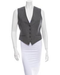 Charcoal Wool Vest