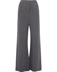 Stella McCartney Wool Wide Leg Pants Gray