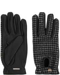 Lardini Woven Fitted Gloves