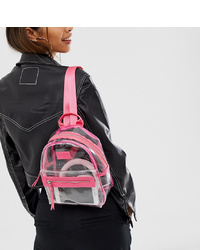 Spiral Hxtn Clear Backpack With