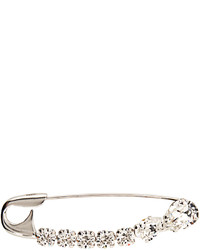 Crystal embellished safety pin brooch medium 1248836