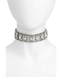 Cristabelle Crystal Choker Necklace