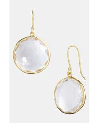 Ippolita Rock Candy Lollipop 18k Gold Drop Earrings