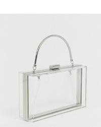 True Decadence Clear Box Bag