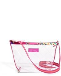 Clear Rubber Crossbody Bag