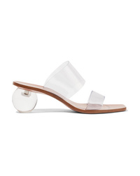 Clear Rubber Mules