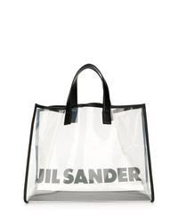 Jil Sander Large Logo Tote
