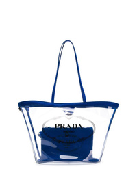 Prada Transparent Tote Bag