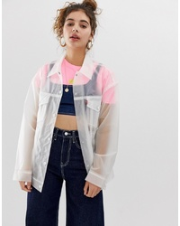 Clear Shirt Jacket