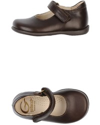 Dark Brown Ballet Flats