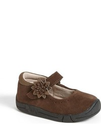 Jumping Jacks Infant Girls Bella Suede Mary Jane
