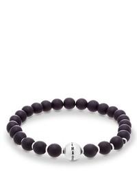 Onyx bead bracelet medium 1132077