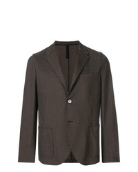 Harris Wharf London Unstructured Two Button Blazer