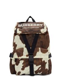 Dark Brown Canvas Backpack