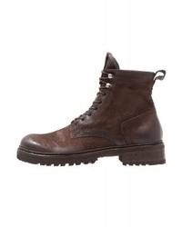 Rude lace up boots chocotesta di moro medium 6441985