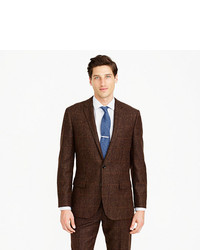 Ludlow suit jacket in herringbone windowpane english wool medium 821994