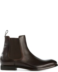 Dark brown chelsea boots original 2460975