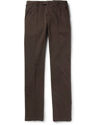 Dark Brown Chinos