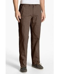 Military relaxed fit chinos brown olive 34 medium 44505