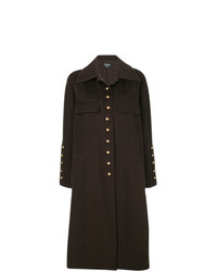 Chanel Vintage Cashmere Single Breasted Coat