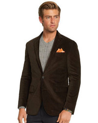 Dark Brown Corduroy Blazer