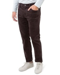 Dark Brown Corduroy Chinos