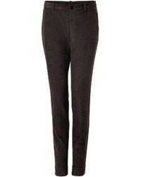 Dark Brown Corduroy Dress Pants
