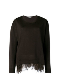 P.A.R.O.S.H. Ostrich Feather Sweater