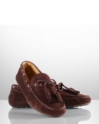 Dark brown driving shoes original 7262768