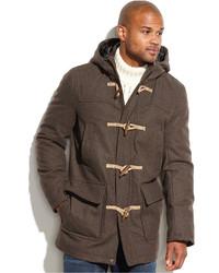 Dark Brown Duffle Coat