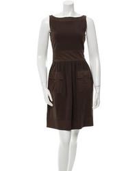Diane von Furstenberg Sleeveless A Line Mini Dress