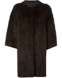Liska cashmere loose fit coat medium 111459