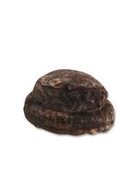 Dark Brown Fur Hat