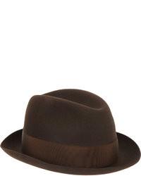 Dark Brown Hat