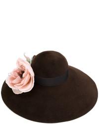 Gucci Corsage Wide Brim Hat