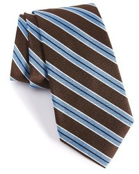Shop classic stripe silk tie medium 1024934