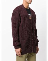 Cable knit cardigan medium 3947754