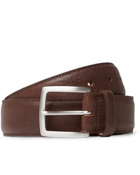 George Cleverley 35cm Brown 1786 Russian Hide Vegetable Tanned Cross Grain Leather Belt